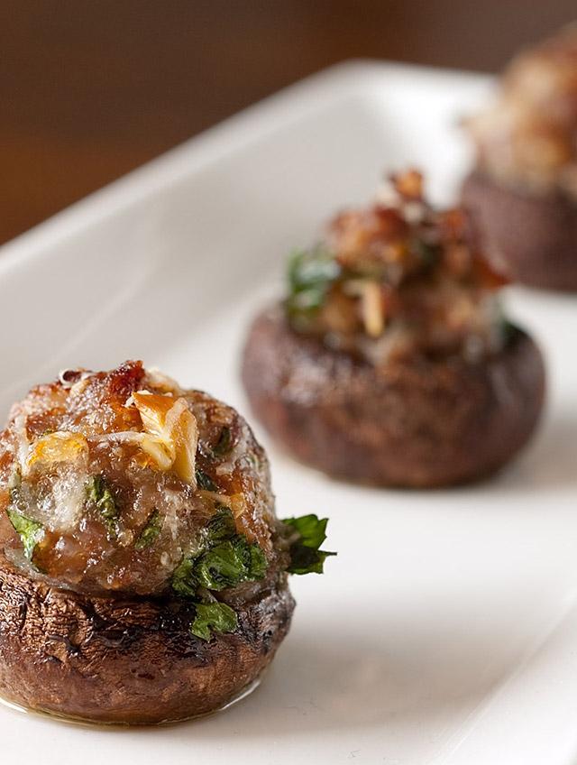 Sausage stuffed mushrooms life 39 s ambrosia for Ambrosia mediterranean cuisine