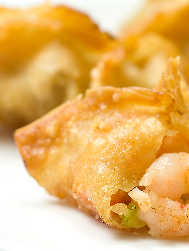 Recipe for Shrimp and Vegetable Wontons - Life's Ambrosia Life's ...
