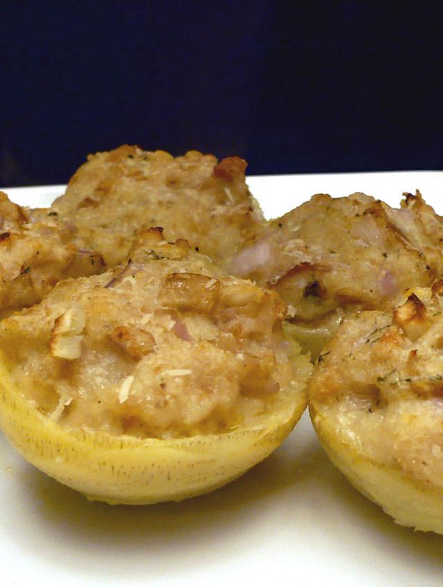 Recipe For Stuffed Artichoke Bottoms Life S Ambrosia Life S Ambrosia