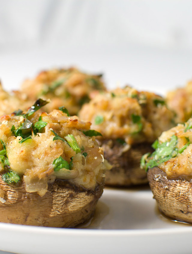 Recipe for Stuffed Mushrooms - Life's Ambrosia Life's Ambrosia