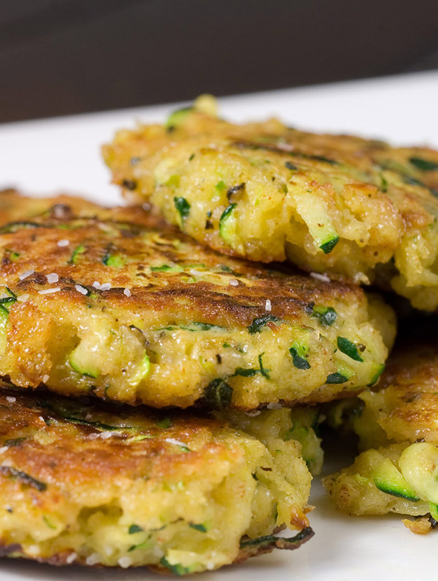 Pan Fried Zucchini Cakes