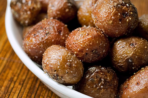 Roasted Potatoes with Truffle Oil