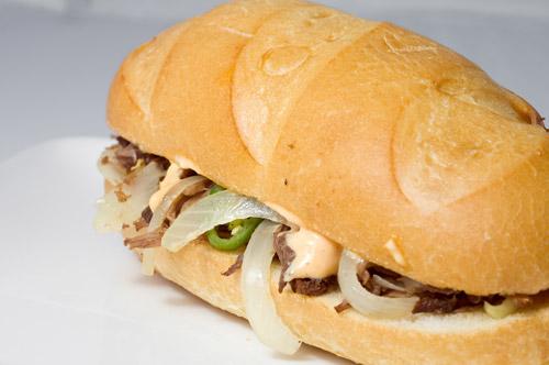 Shredded Beef Sandwiches with Sriracha Mayo