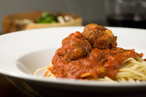Spaghetti and Meatballs- A Taste of Home