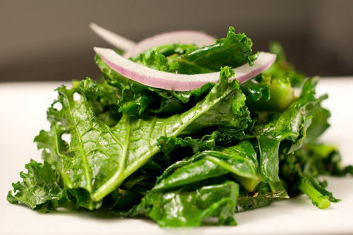 Spicy Sauteed Kale