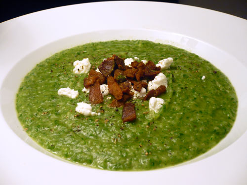 Spinach and Potato Puree