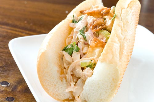 Sriracha Chicken Salad Sandwich