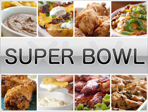 Super Bowl XLV Recipes
