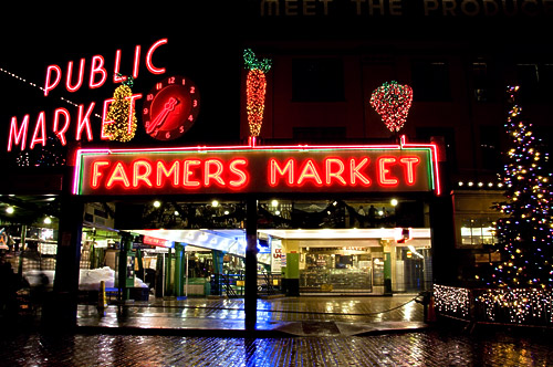 Pike Place Market Christmas