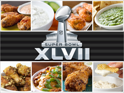 Super Bowl XLVII Recipes